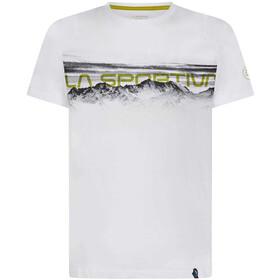 La Sportiva Landscape Maglietta a maniche corte Uomo, bianco/nero
